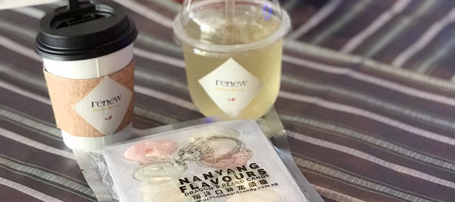Nanyang Flavours Dragon's Beard Candy has partnered with Renew Snacks Garage