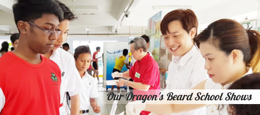 Our Dragon's Beard Candy School Shows